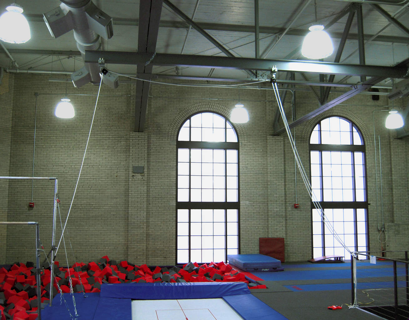 Gymnastics Gym University of Pennsylvania Deep Foam Pit