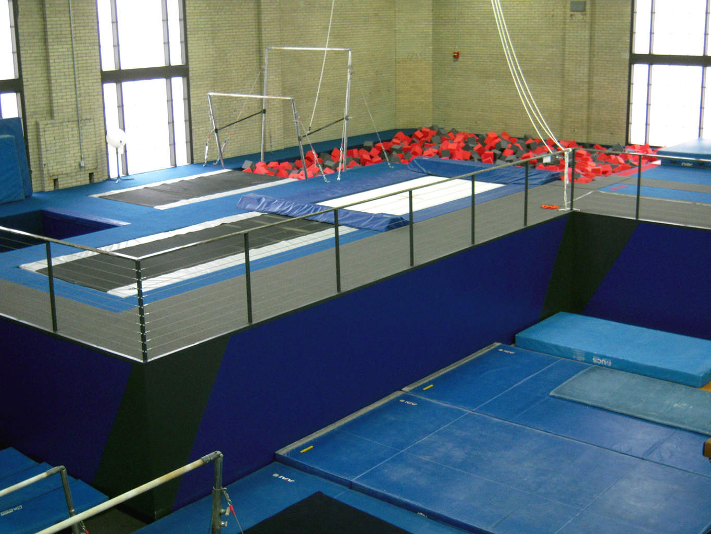 University of Pennsylvania Gymnastics Uneven Bars
