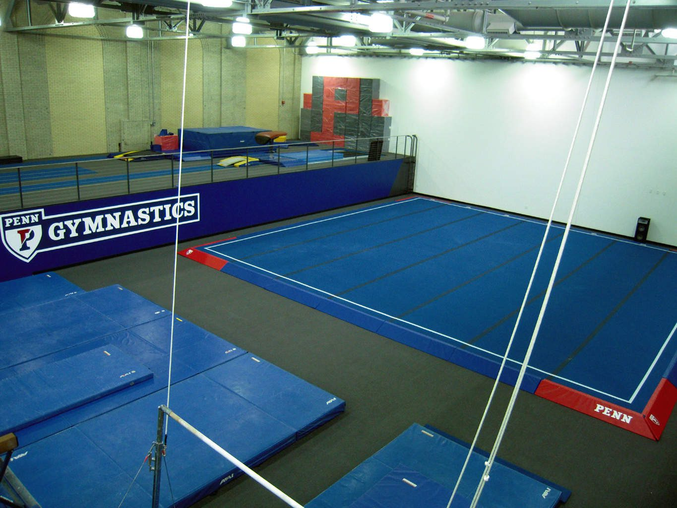 University of Pennsylvania Gymnastics Gym Spring Floors
