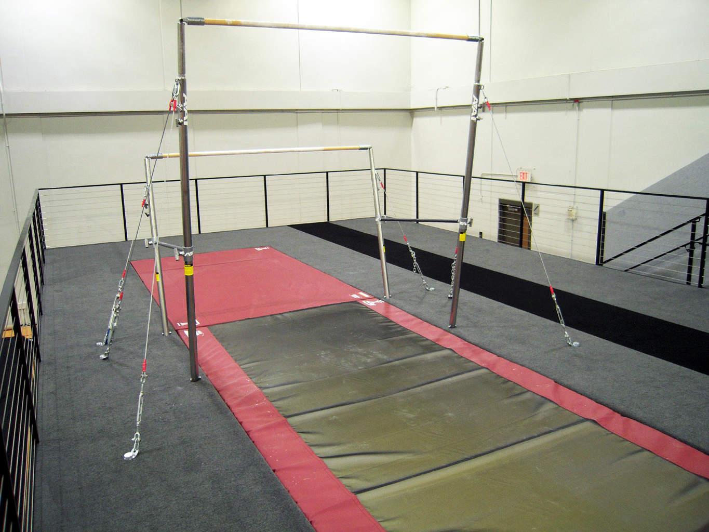 New Bar Area Temple University Gymnastics