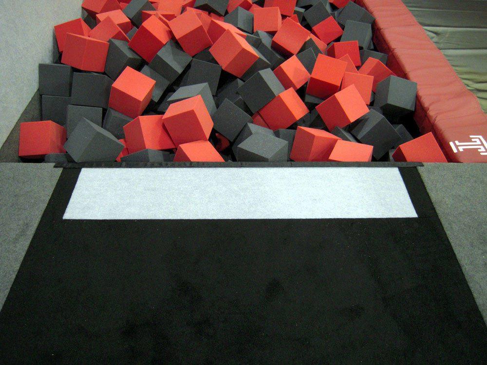 Temple University Gymnastics Tumbling Strip