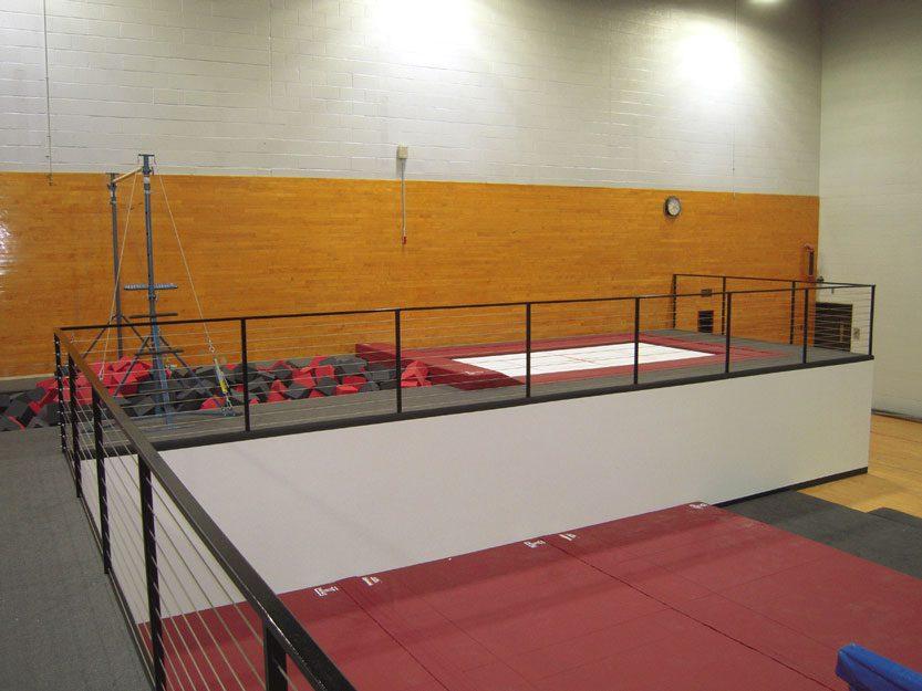 Temple University Gymnastics Rail Bar