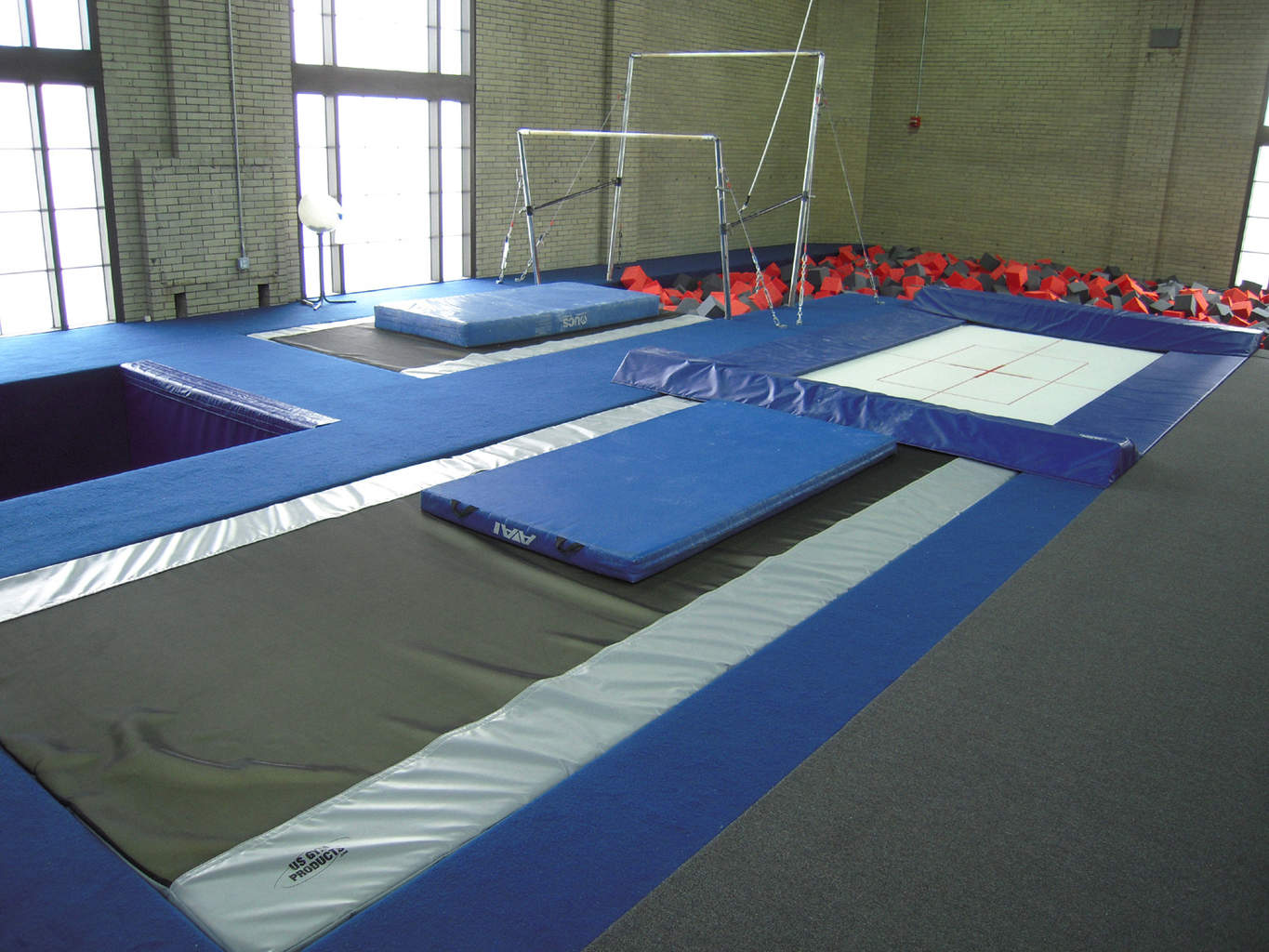 Gymnastics Gym University of Pennsylvania New Training Area