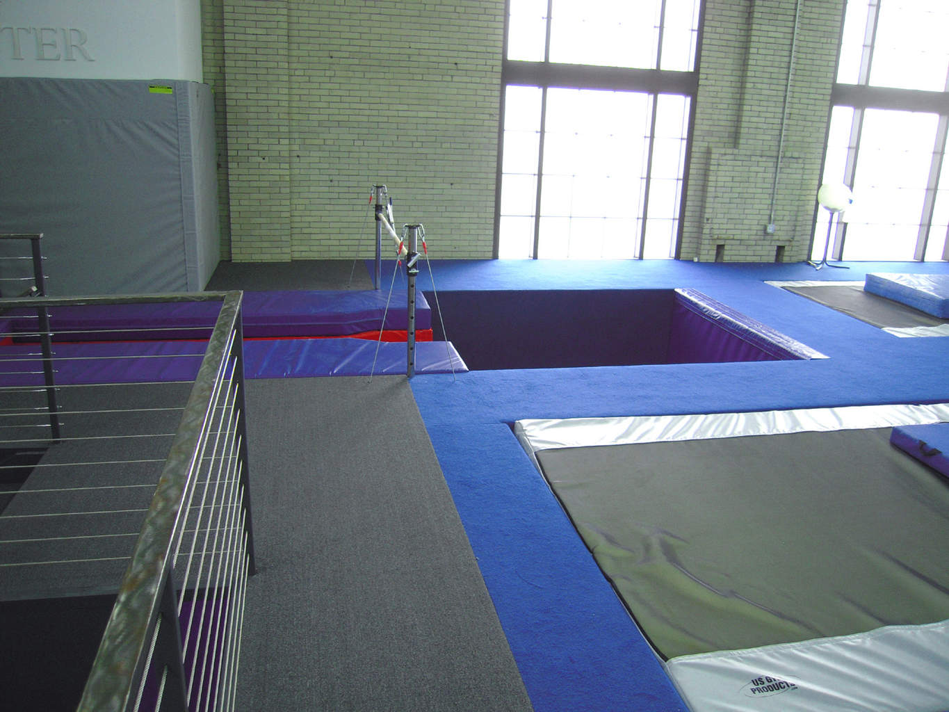 University of Pennsylvania Gymnast Area