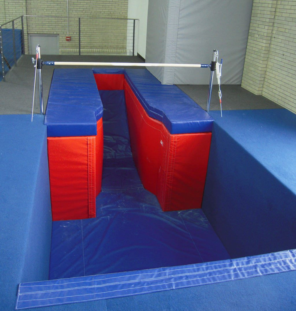 Gymnastics Gym University of Pennsylvania Trench Pit