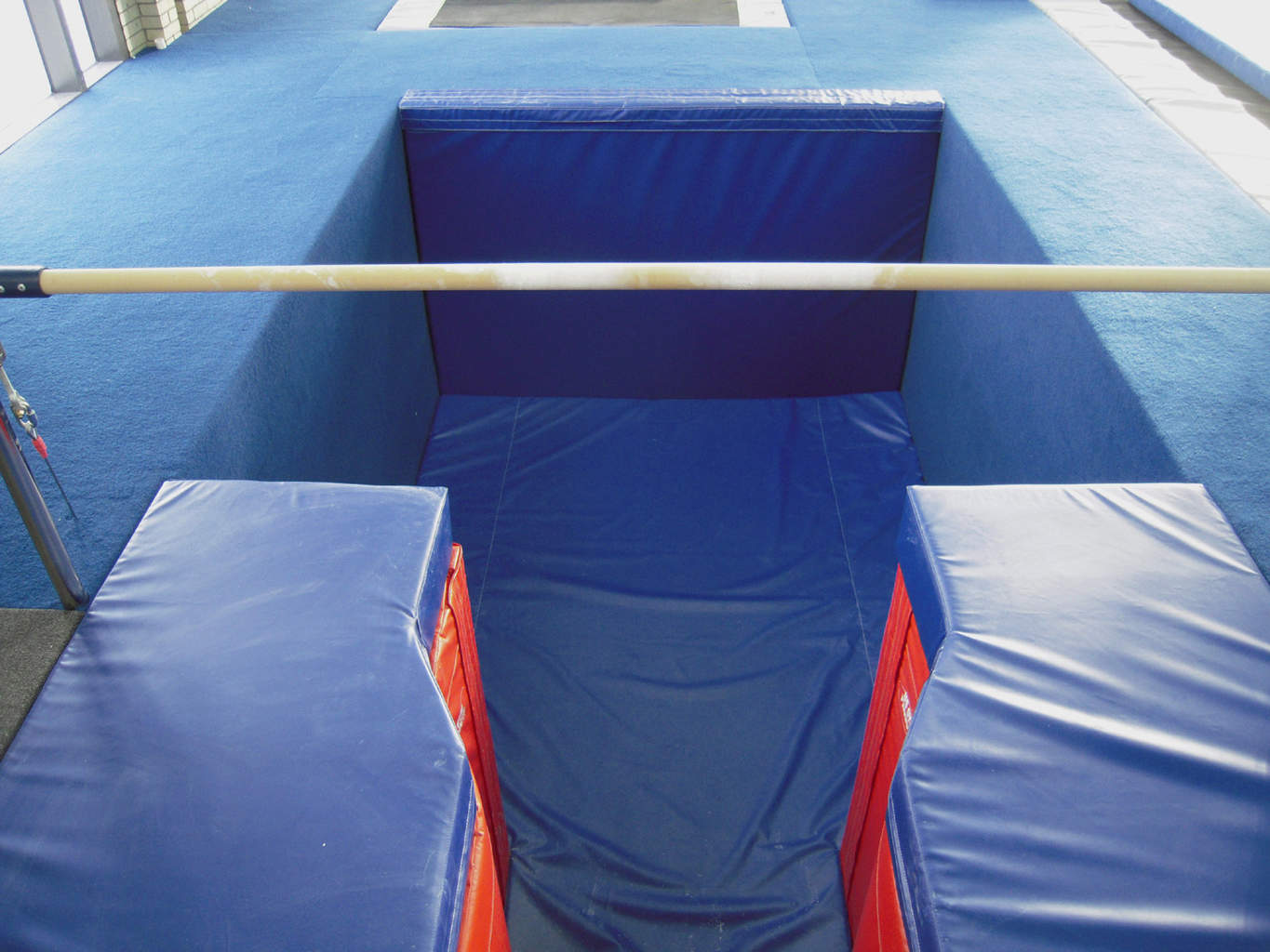 Gymnastics Gym University of Pennsylvania Foam Pit