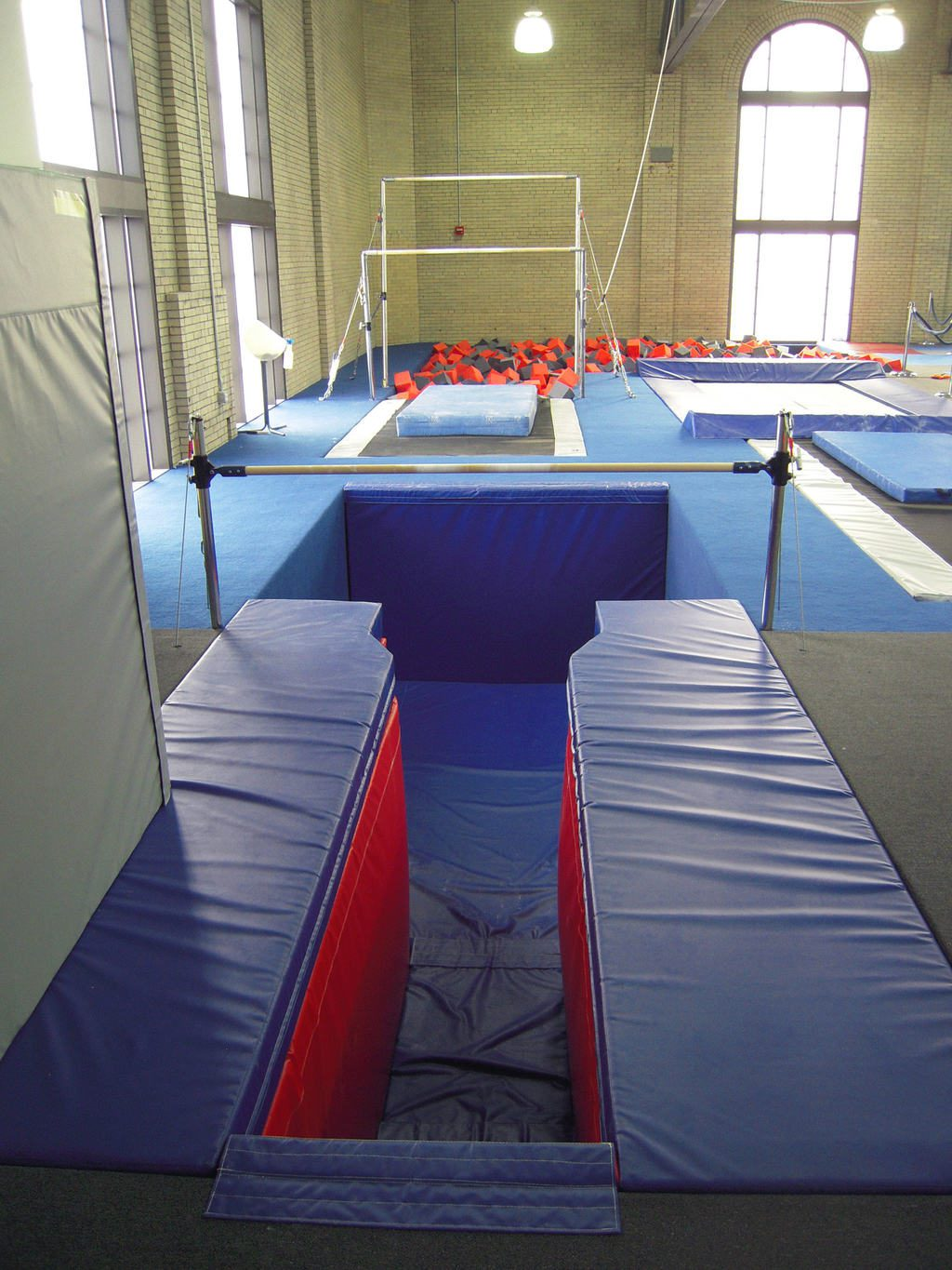 Gymnastics Gym University of Pennsylvania Custom Designed Mat