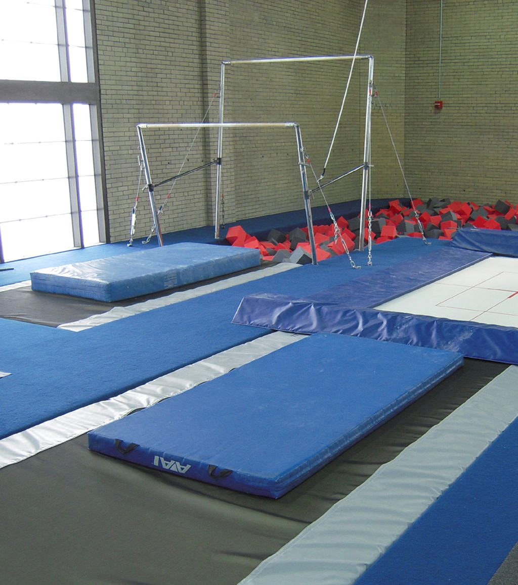 Gymnastics Gym University of Pennsylvania Uneven Bar Area