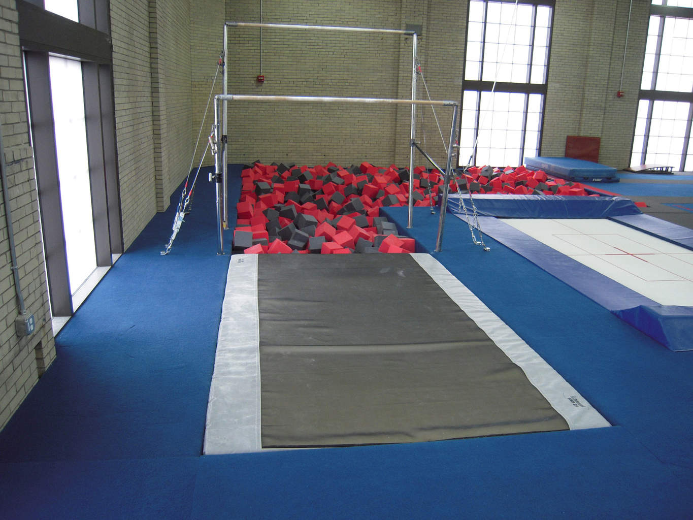 Gymnastics Gym University of Pennsylvania Uneven Bars