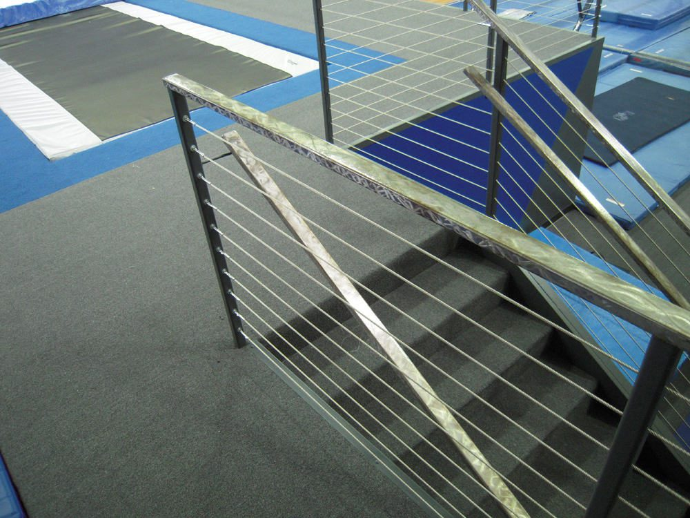 Gymnastics Gym University of Pennsylvania Stairs