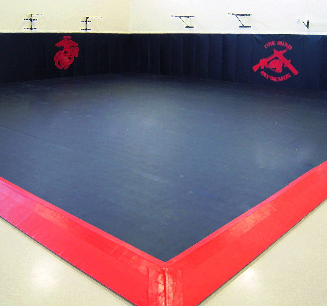 Us Gym Products - USMC spring floors