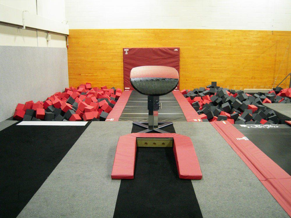 Temple University Gymnastics New Vault Table