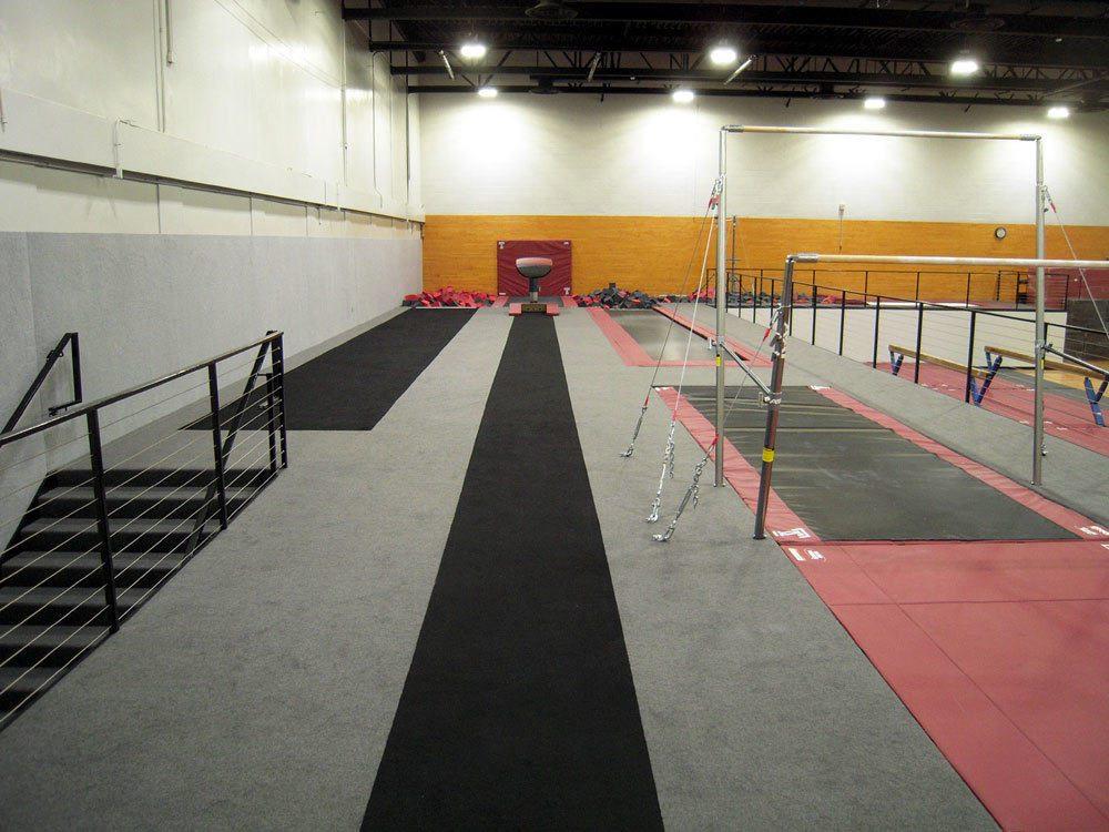 Temple University Gymnastics Gym After