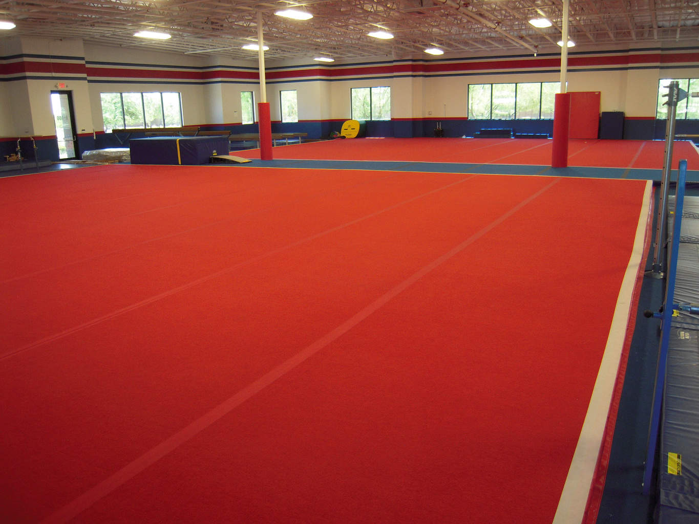 USA Youth Fitness Center New Gymnastics Area