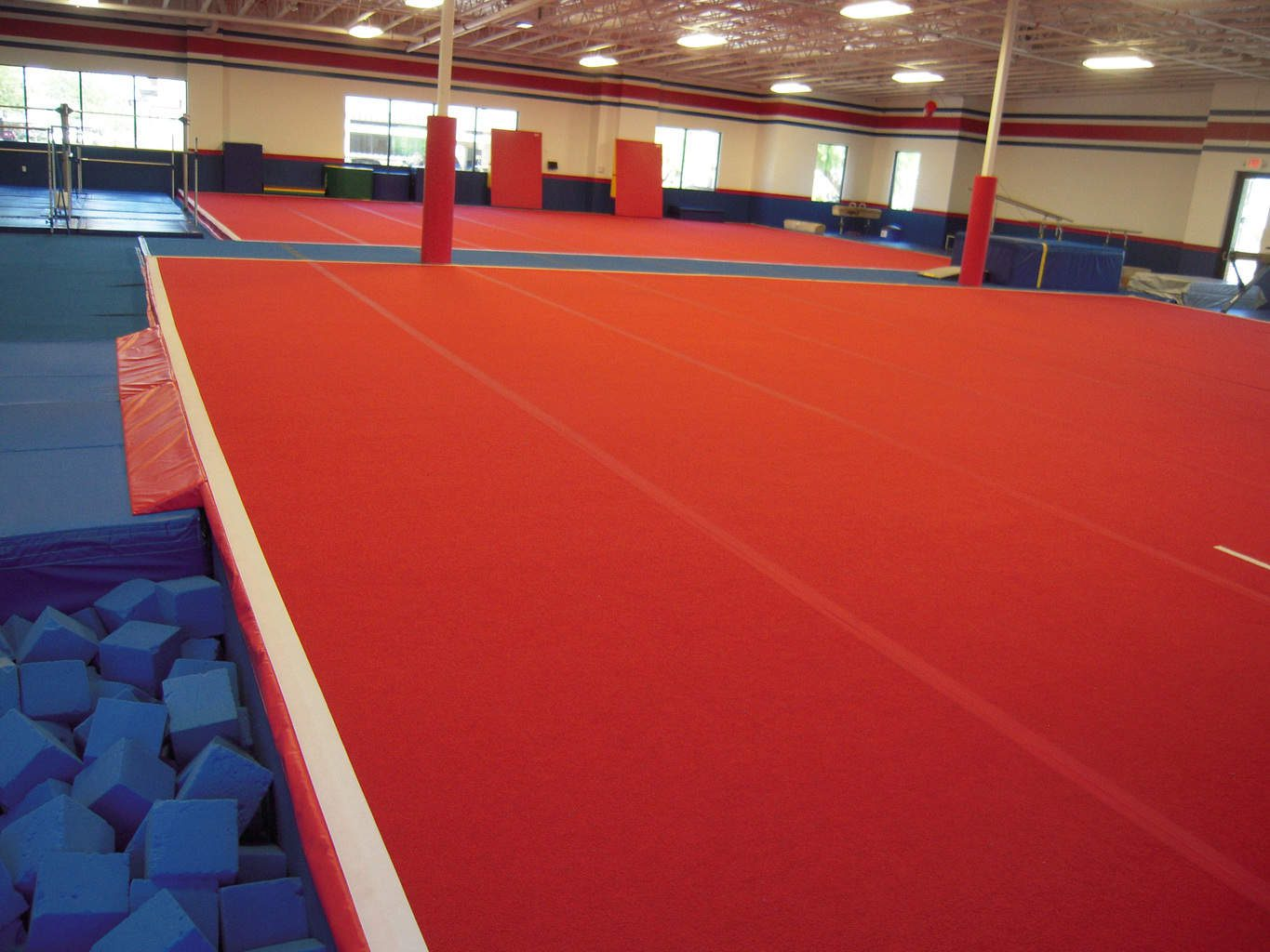 USA Youth Fitness Center Gymnastics Spring Floor