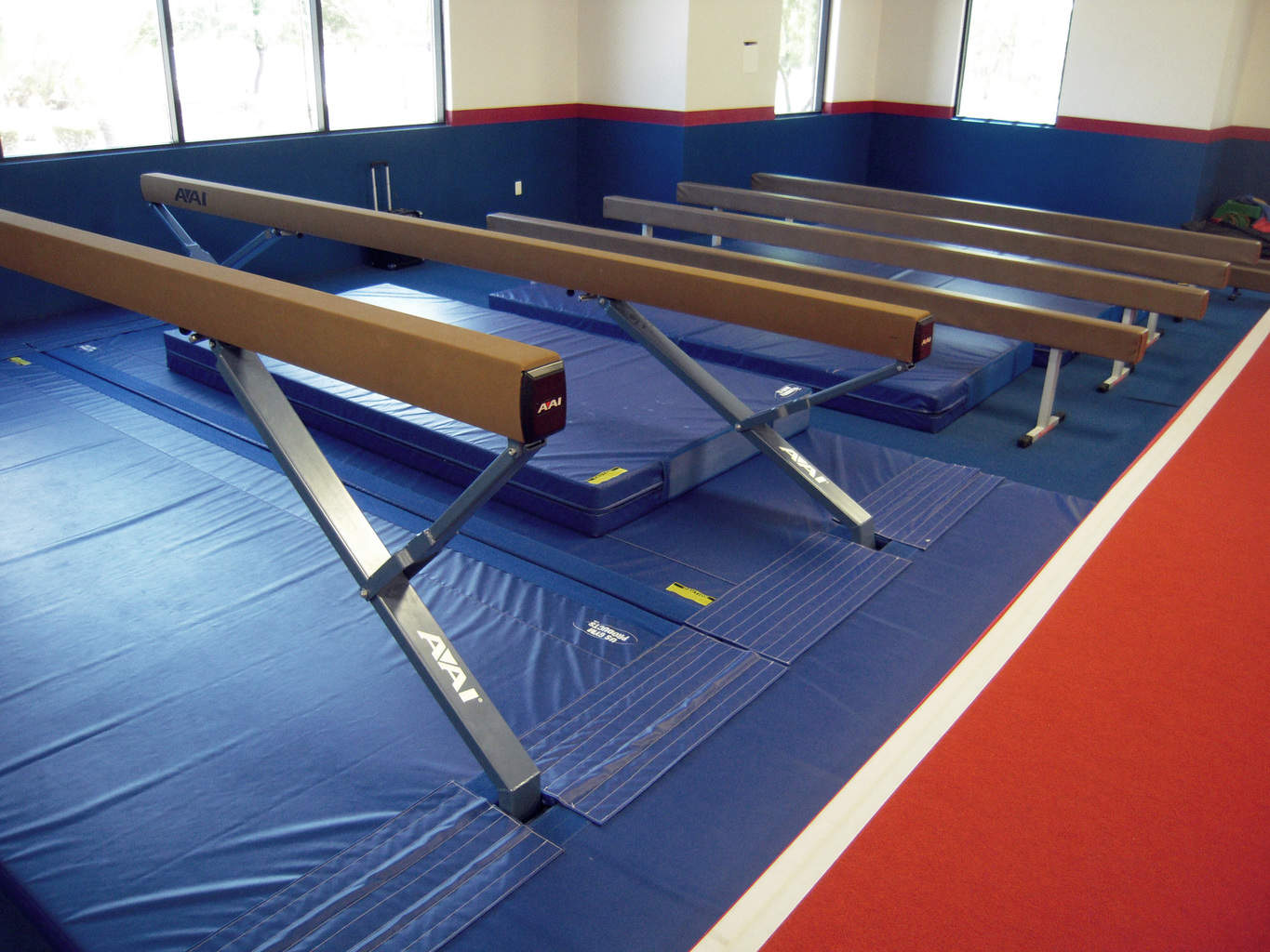 USA Youth Fitness Center Beams