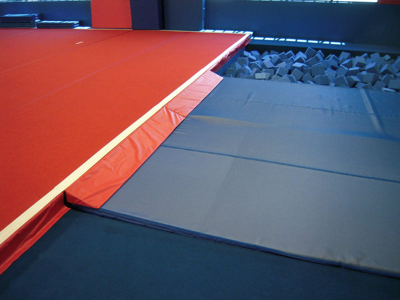 USA Youth Fitness Center Gymnastics Foam Pit