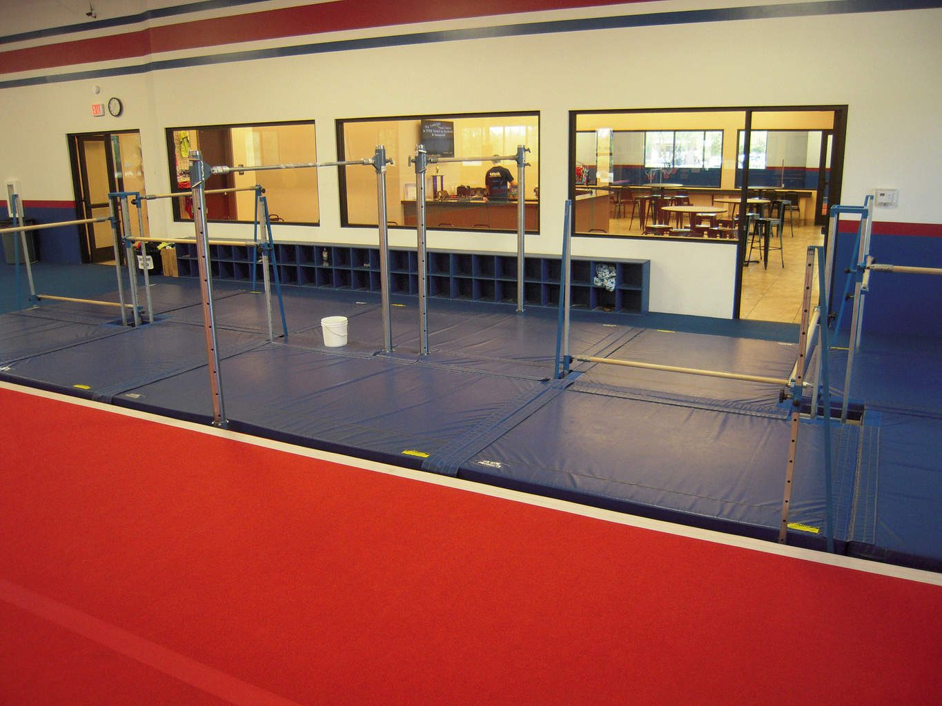 USA Youth Fitness Center The massive low bar system