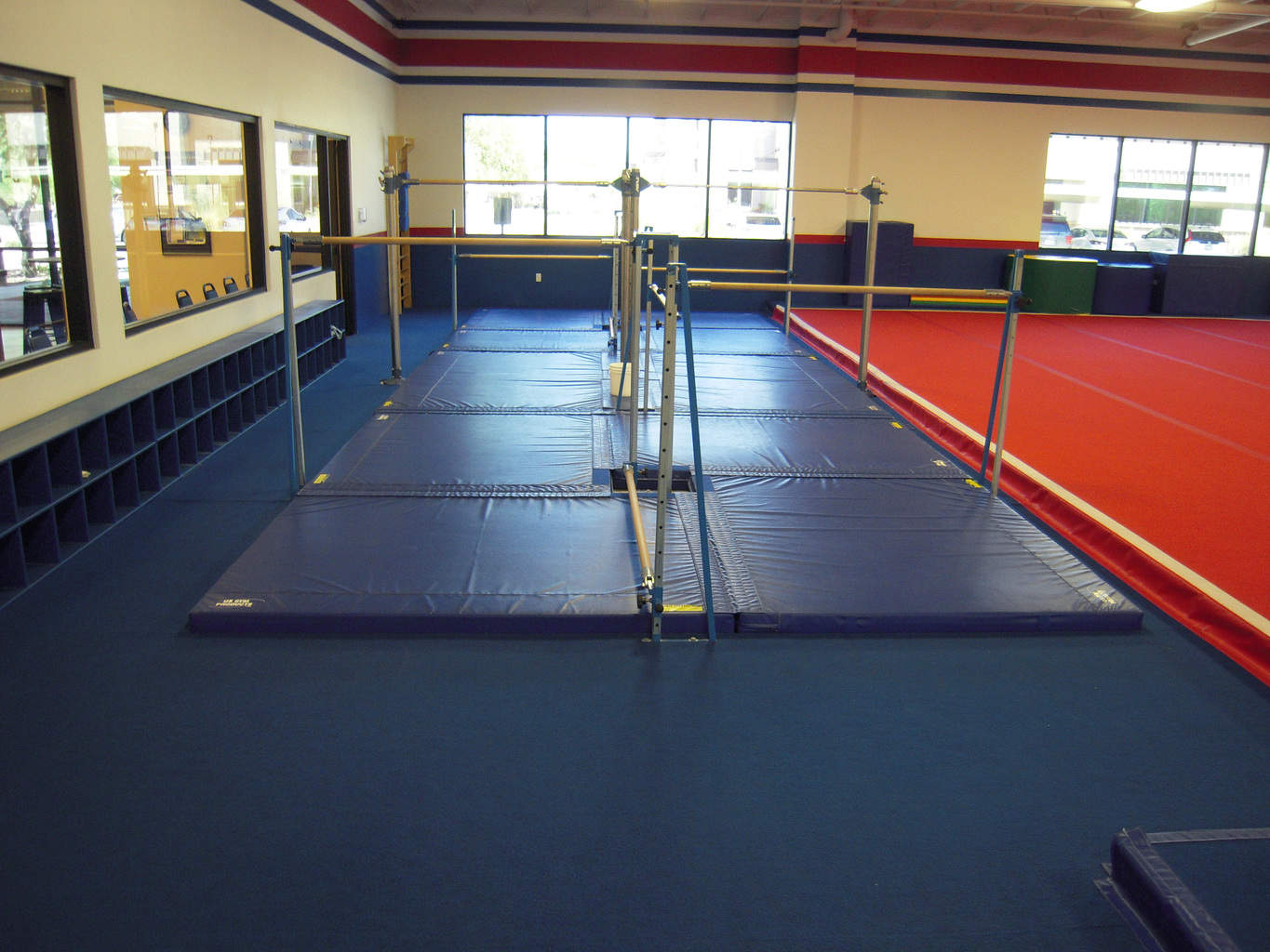 USA Youth Fitness Center two quad bar systems