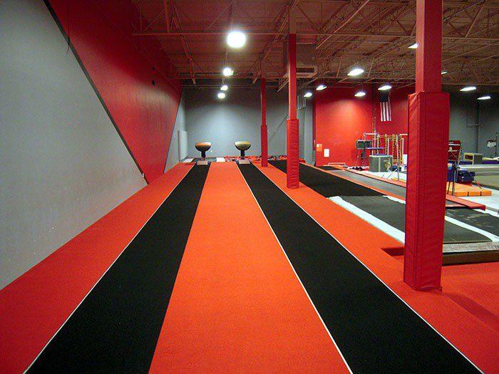 Team Attraction Gymnastics Training Area