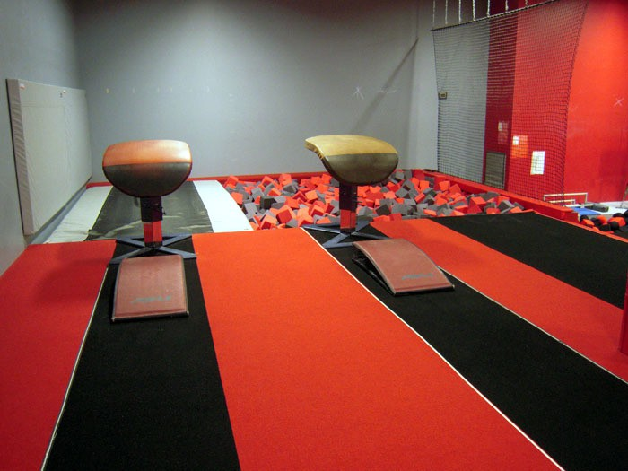 Team Attraction Gymnastics Vault Area