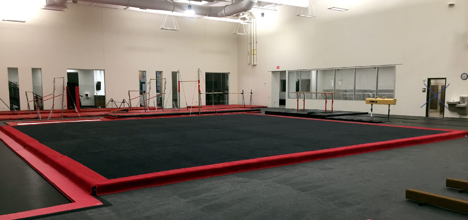 Bison Ridge Rec Center for Gymnastics New Spring Floor