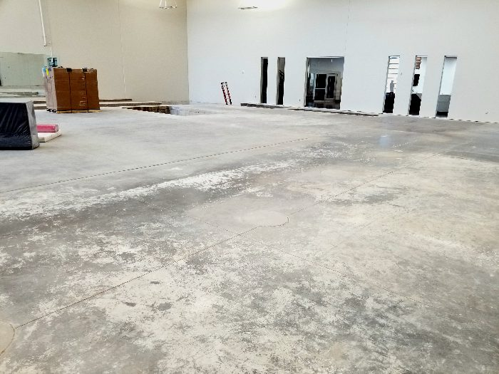 Bison Ridge Rec Center Gymnastics Before Trench Area