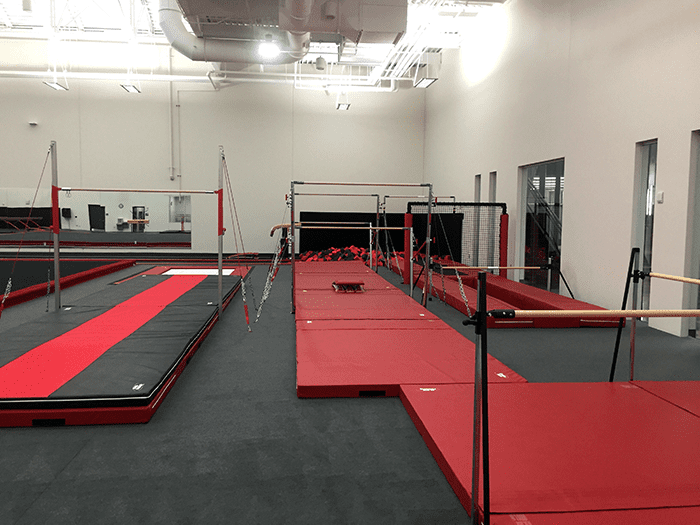 Bison Ridge Rec Center Gymnastics Bar Pit