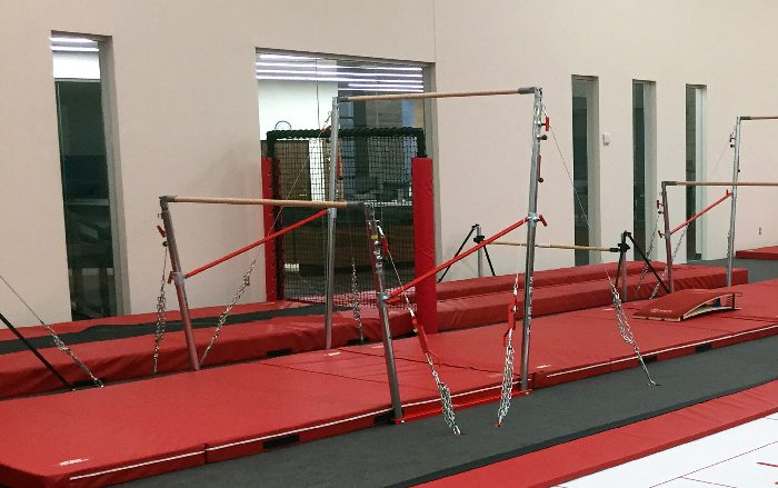 Bison Ridge Rec Center Gymnastics After Bar Area