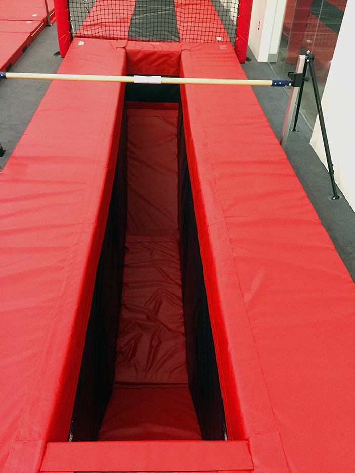 Bison Ridge Rec Center Gymnastics Trench Close Up