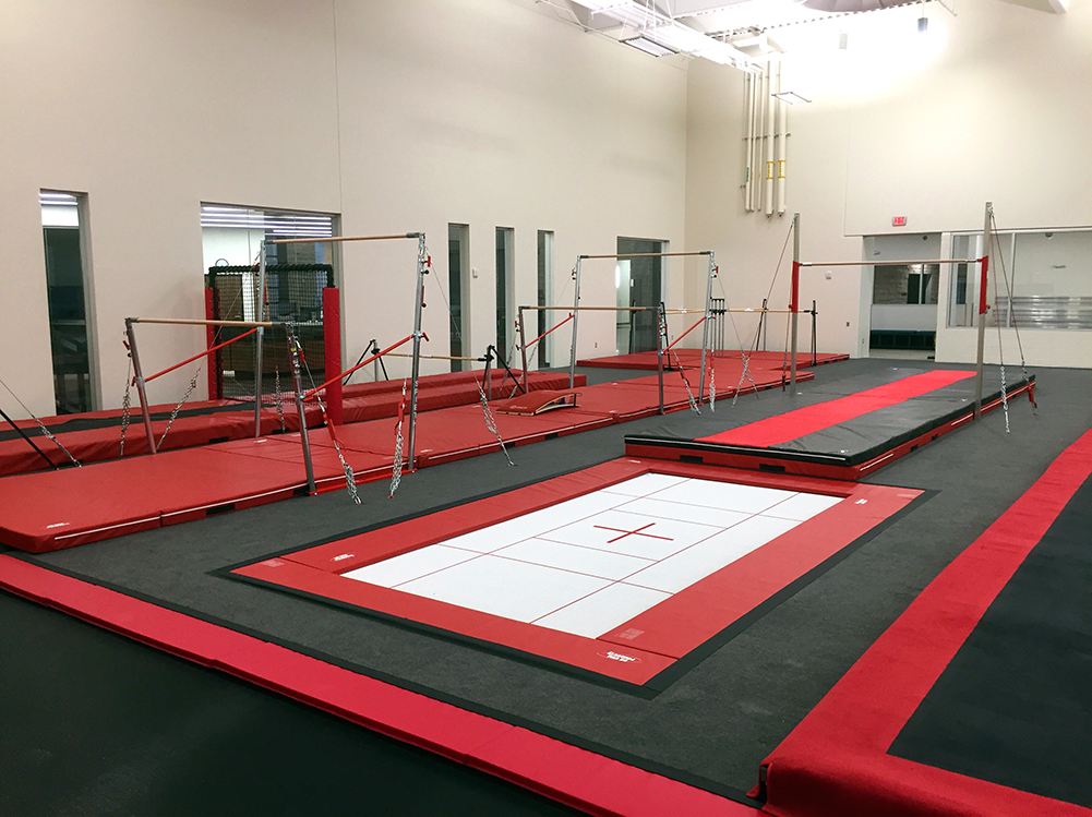 Bison Ridge Rec Center Gymnastics Inground Trampoline