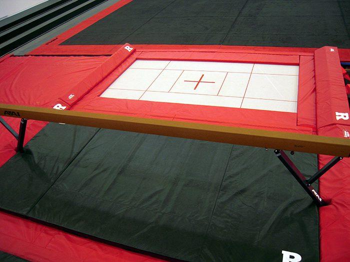 Rutgers gymnastic pit