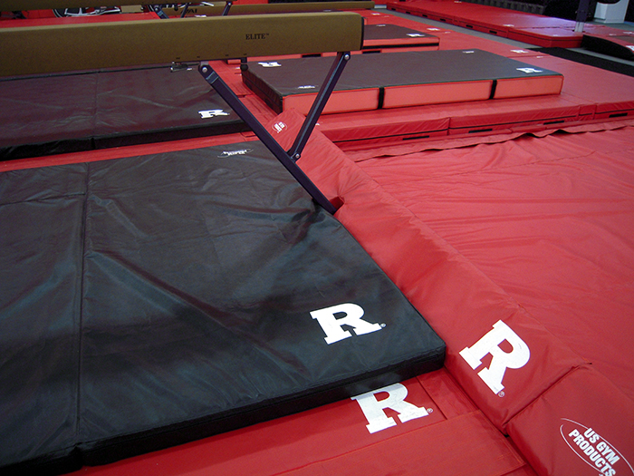 Rutgers gymnastics mats