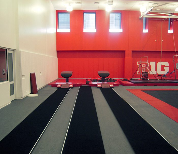 Rutgers Gymnastics Vaulting Tables
