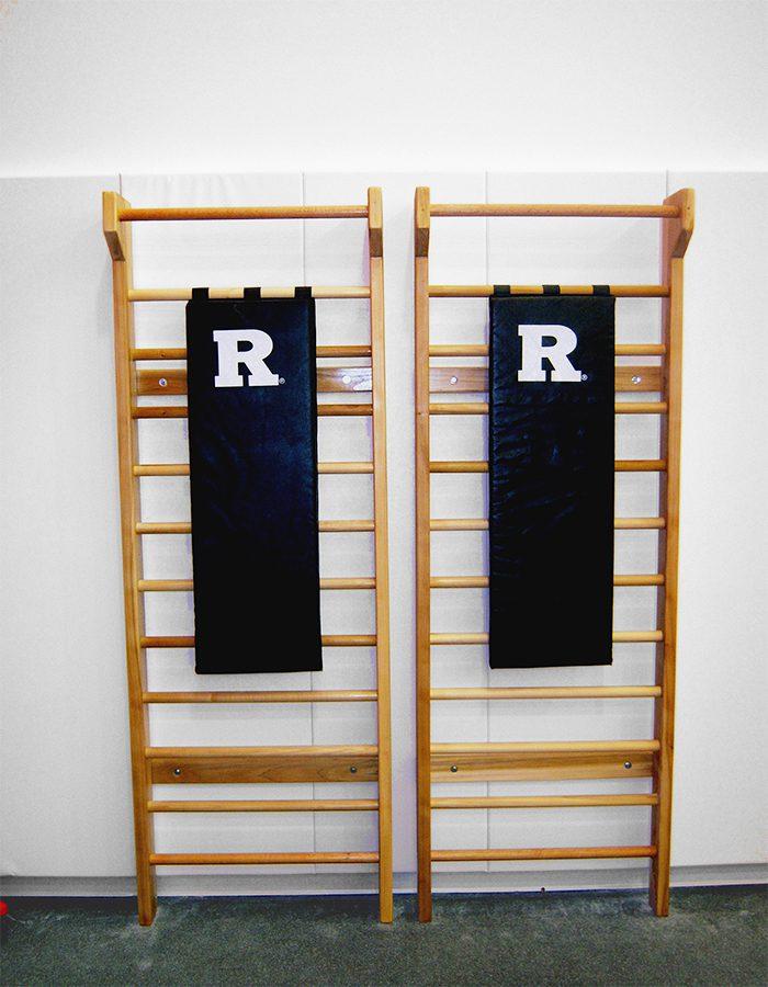 Rutgers Gymnastics Stall Bars