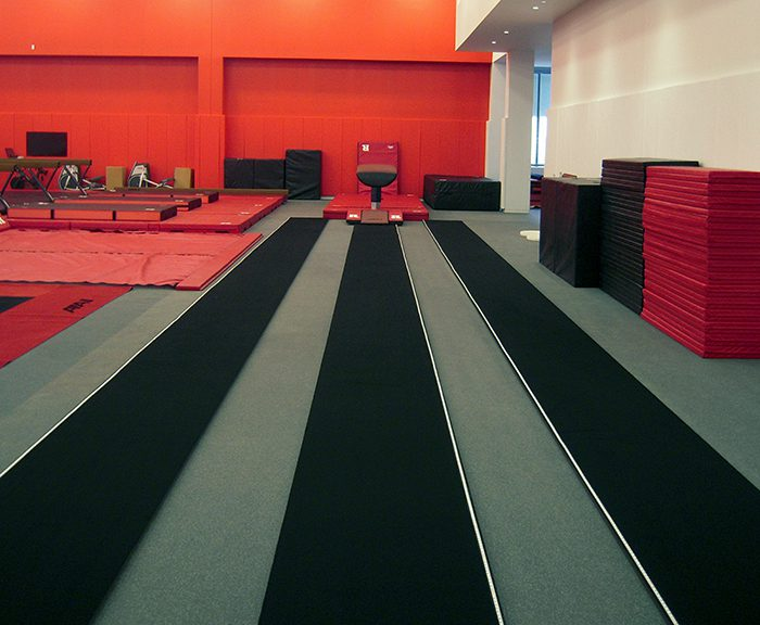 Rutgers Gymnastics Vault Tables