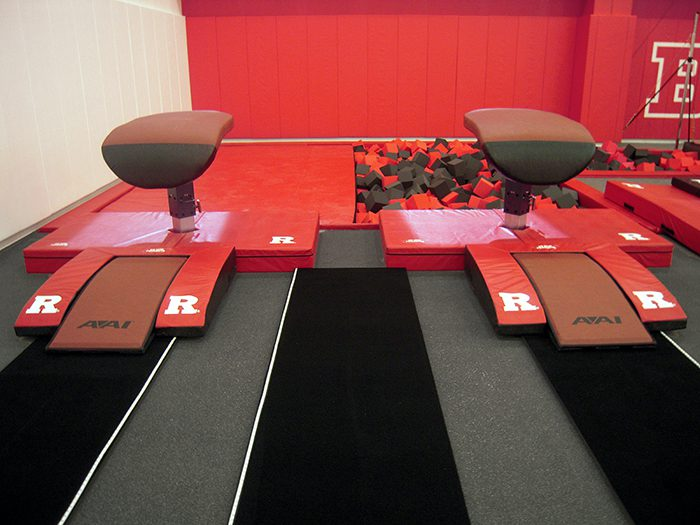Two Rutgers Gymnastics Vault Tables